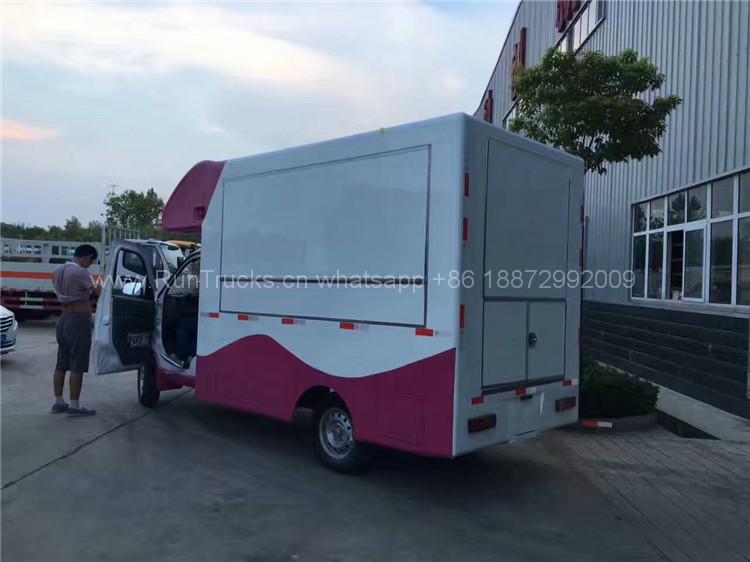 Cina Foton mobile alimentare veicolo per fast food