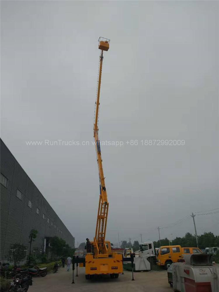 Dongfeng 24m de altura de trabajo aéreo de camiones
