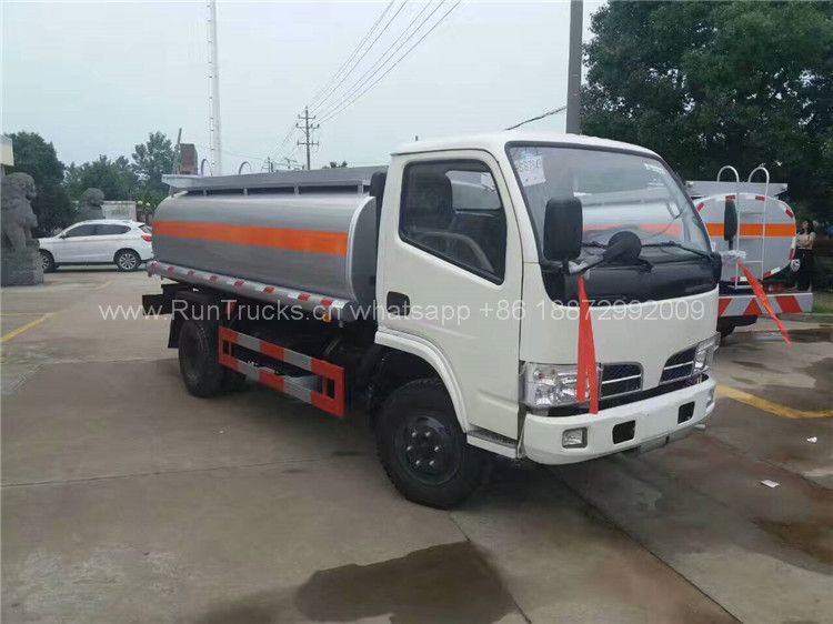 China Dongfeng camion citerne à essence 5 cbm