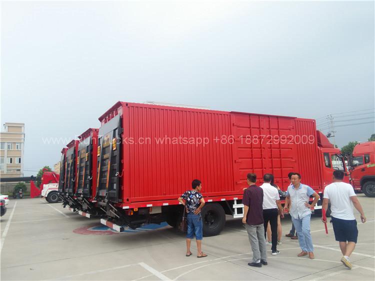 Aujourd'hui recommandé: camion à lit plat Dongfeng avec réci