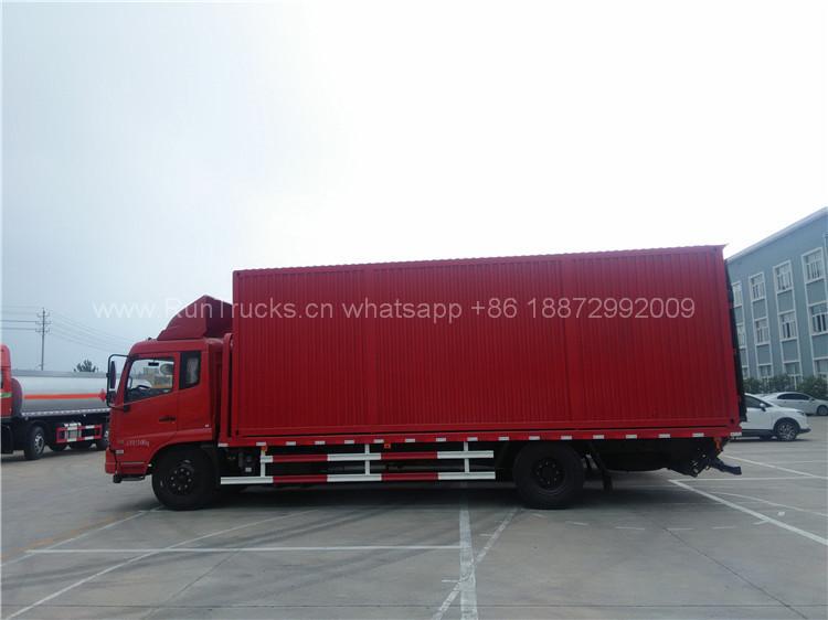 Dongfeng Pritschenwagen, Entladen von Containern kann so kon