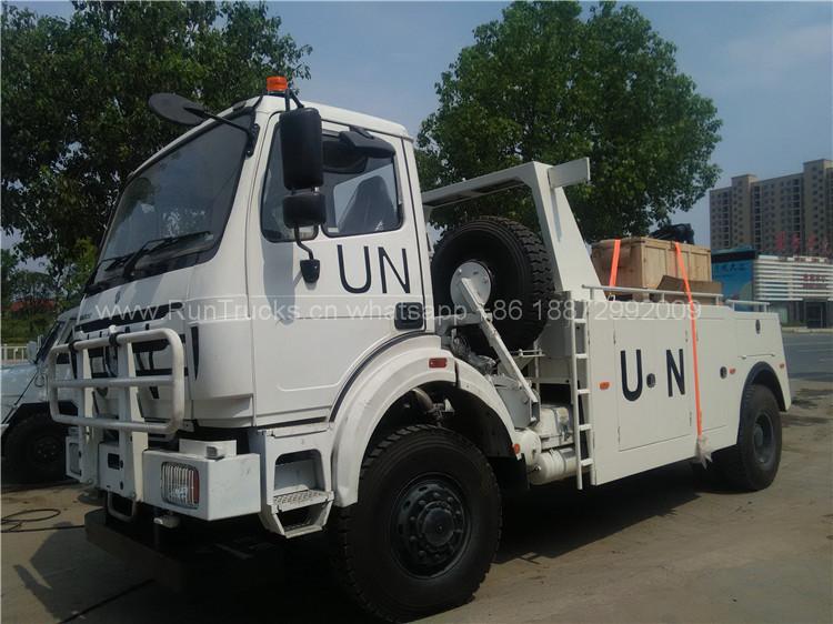 Camión de entrega: 3 unidades IVECO camión de demolición y 1