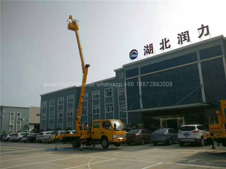 Dongfeng 12m High Aerial Working Platform Truck