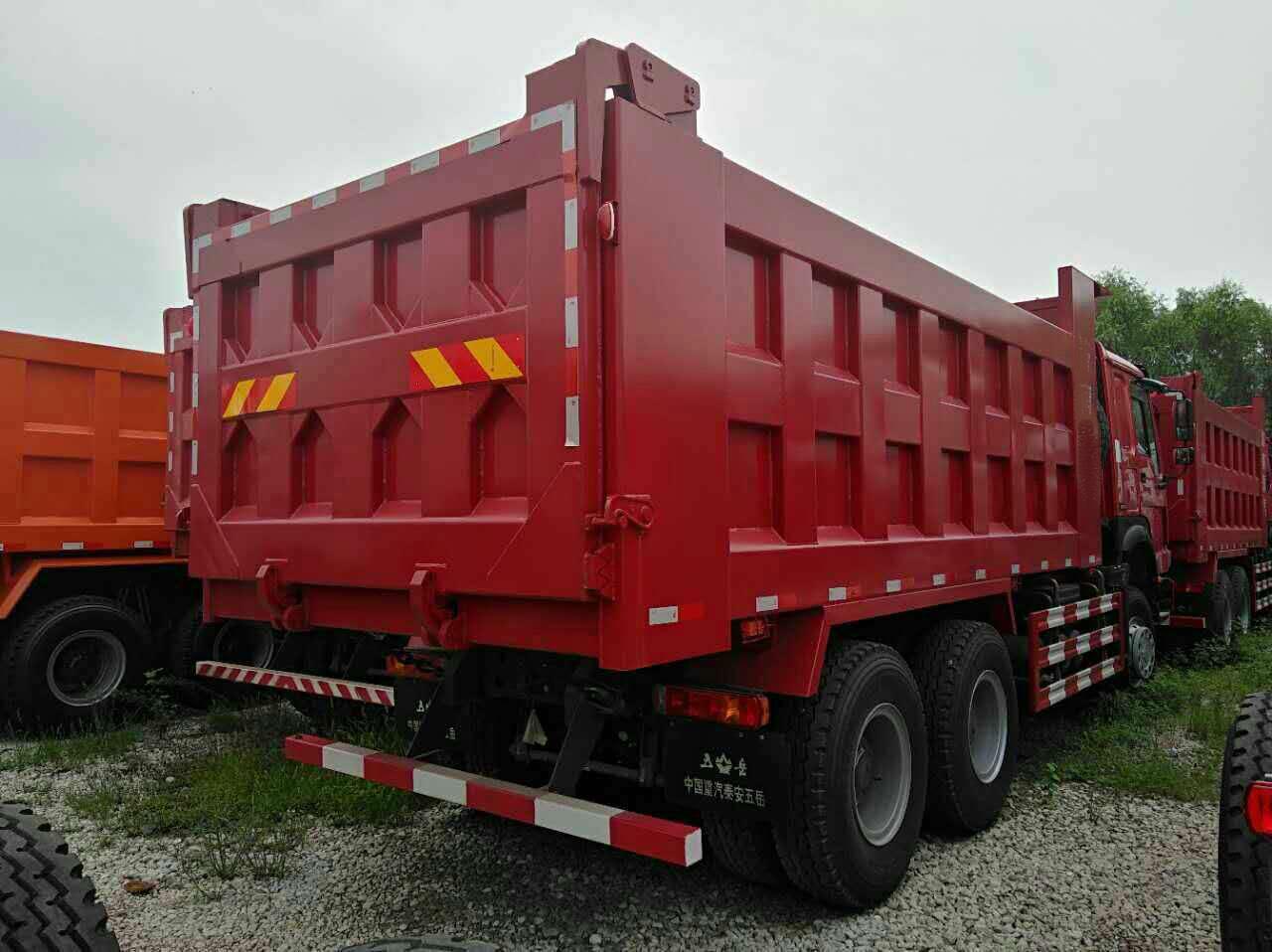 China Sinotruk Howo 7 camión volquete