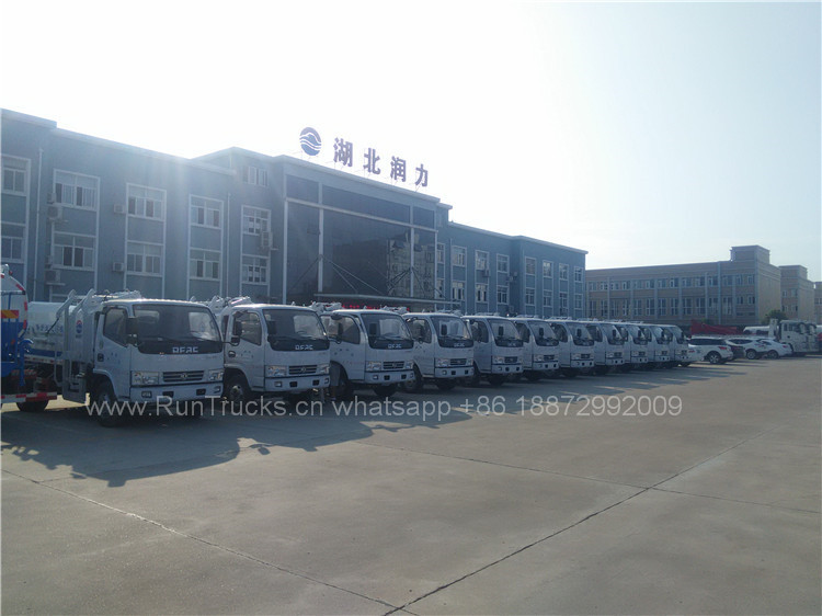 Dongfeng 2T Chariot à ordures autochargeuses