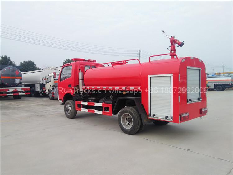 Dongfeng acqua fuoco combattimento camion in Sudan paese