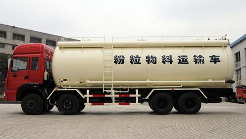 Quel est le bétonnière? Qu'est-ce camion-citerne de poudre?