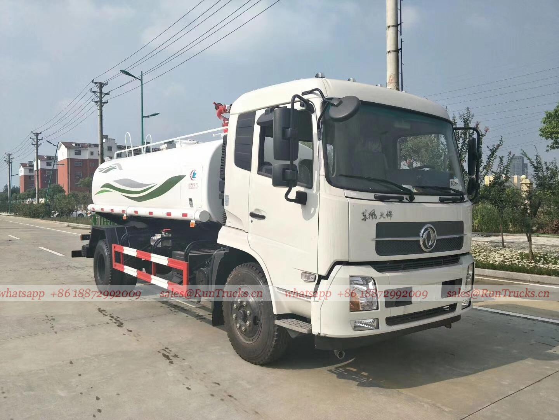 Cina Dongfeng10 cbm acqua camion antincendio