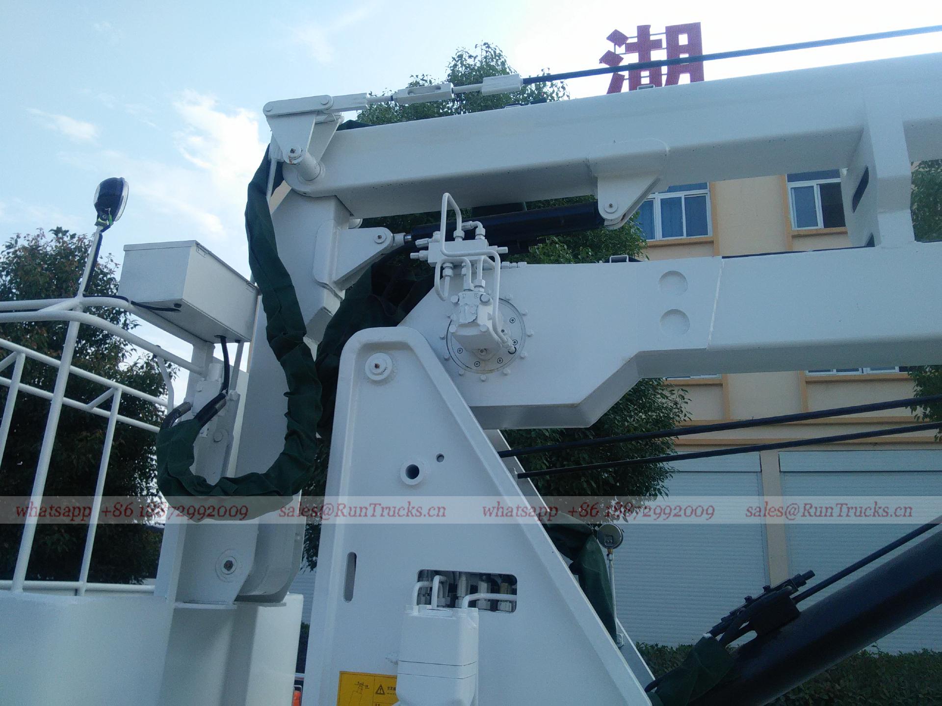 China Dongfeng 16 m hohe Hubarbeitsbühne LKW