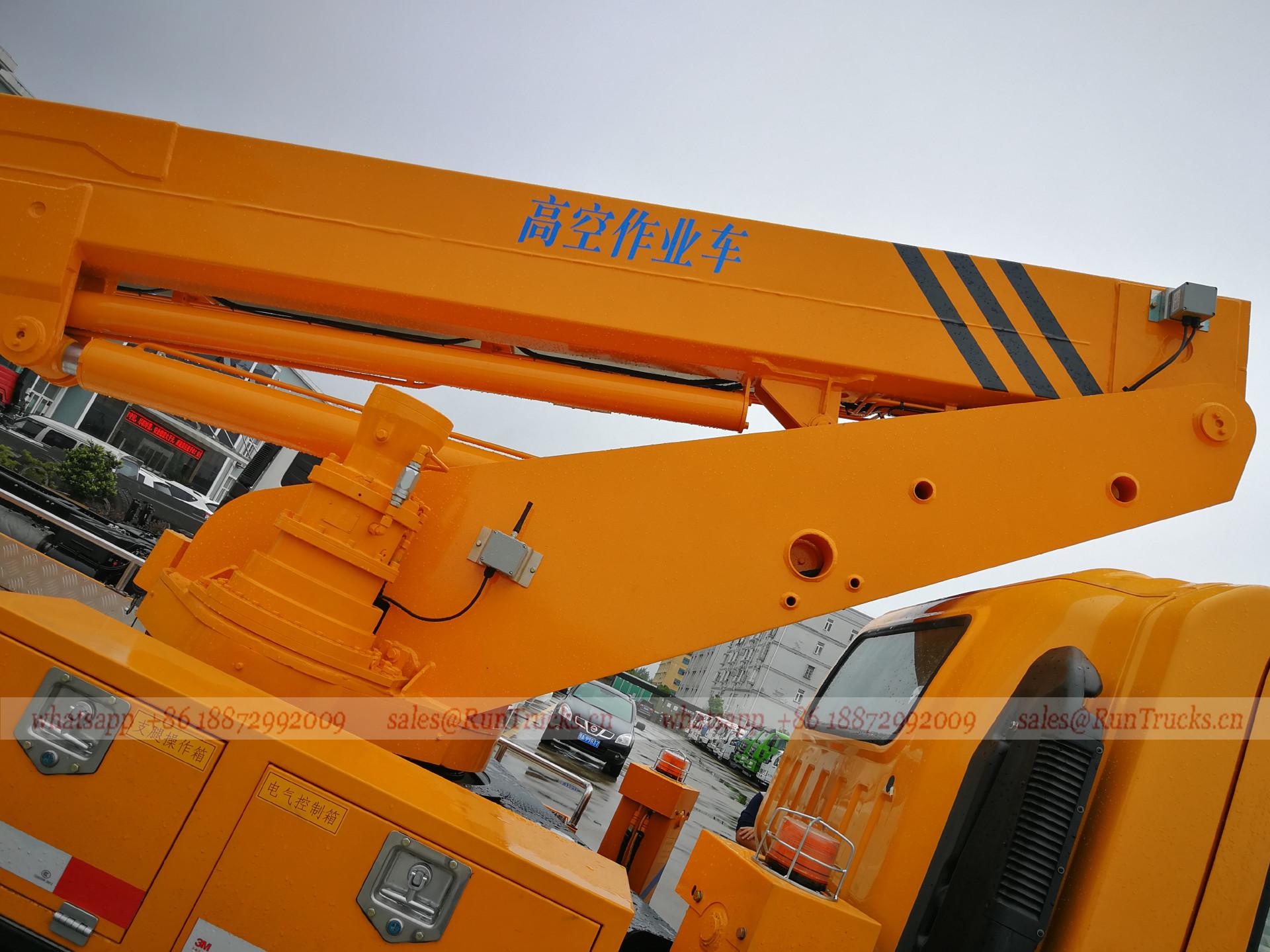 China JMC 20 mètres Plate-forme de travail aérienne Camion,
