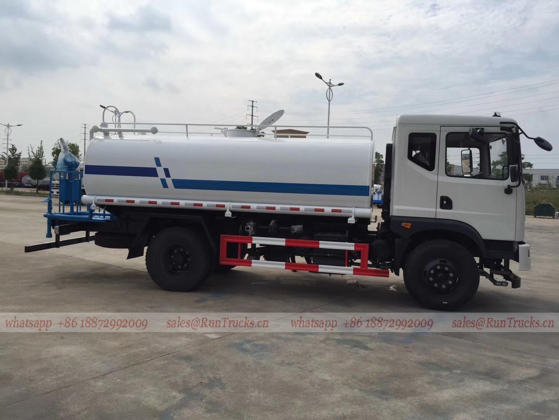 China Dongfeng T3 12cbm Wasser bowser, 12 cbm Wasser LKW zum