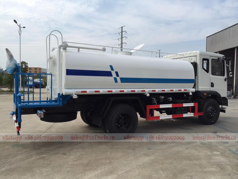 中華人民共和国の東風T3 12cbm water bowser、12 cbm water truck販売