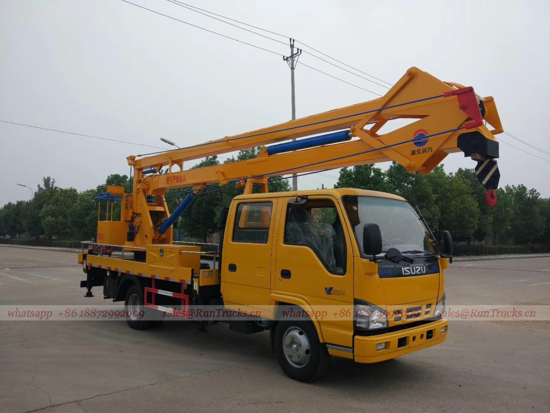 Cina 18m Isuzu camion piattaforma aerea di lavoro