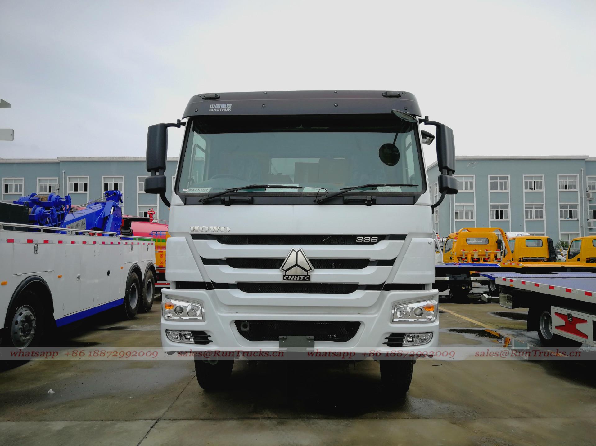 中国sinotruk howo 7キャブ336馬力ダンプトラック