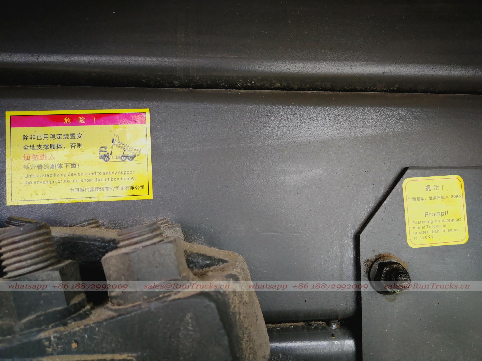 Çin sinotruk howo 7 kabin 336 at güç döküm makinesi