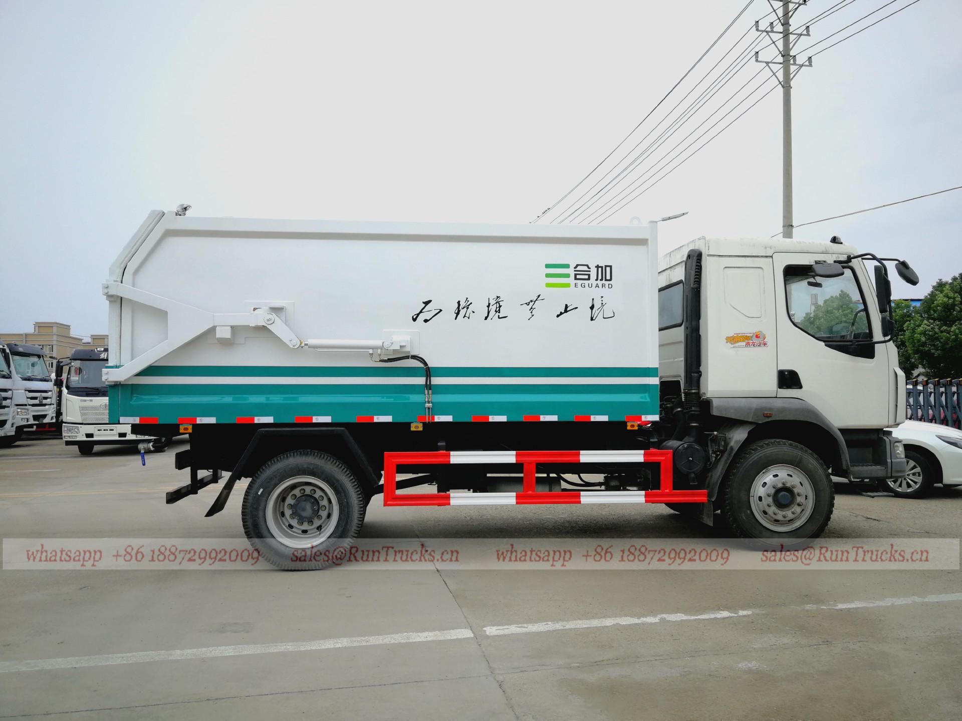 Cina Dongfeng 10cbm tipo di giunzione tipo Garbage Truck