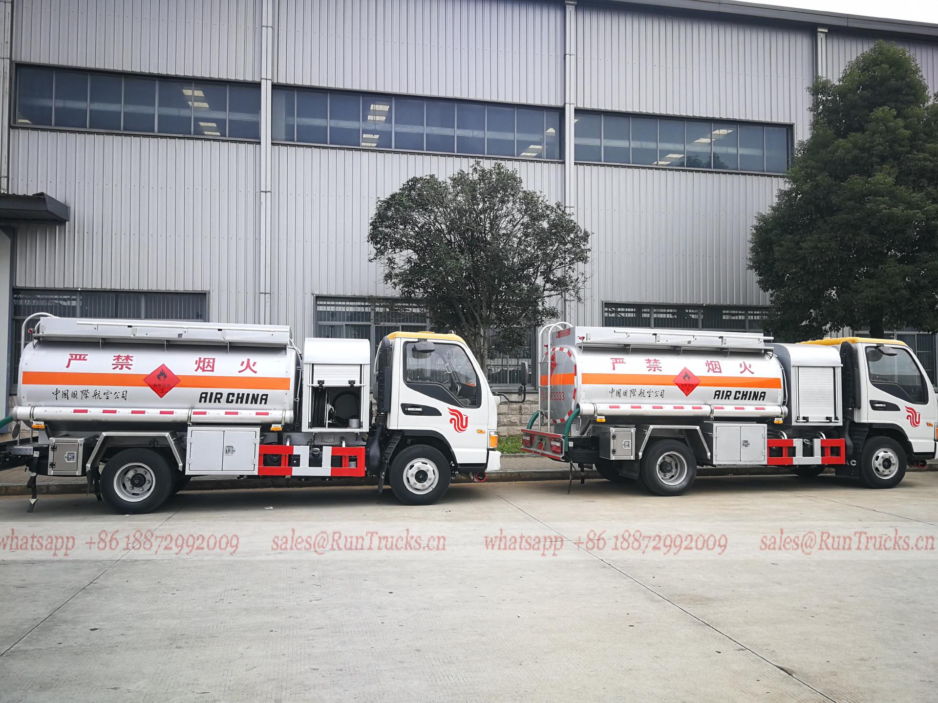 China JAC 4000L Flugzeugbetankungswagen