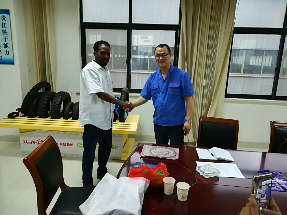 Kenyan Client Visited Factory on July 17th