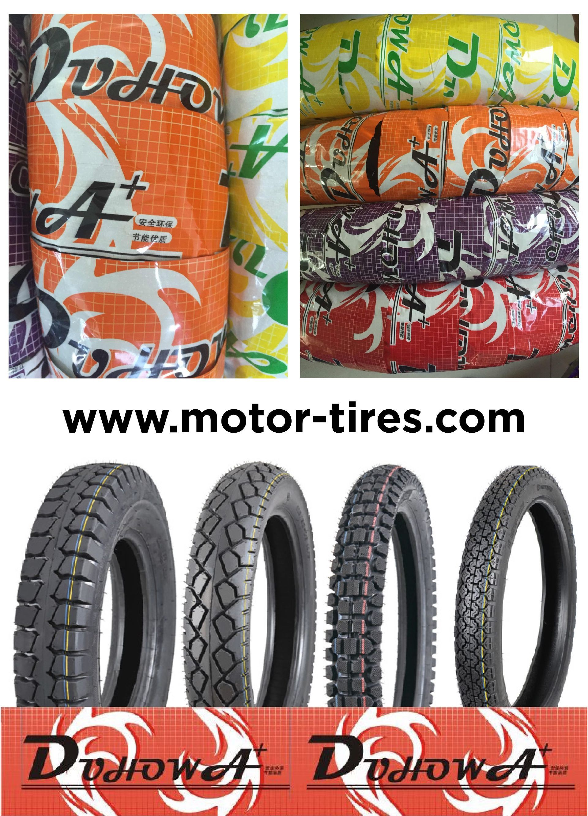 New Packaging for Duhow Motorcycle Tyres