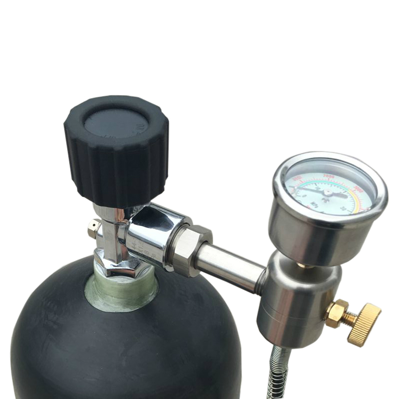 High Pressure Gas Bottle