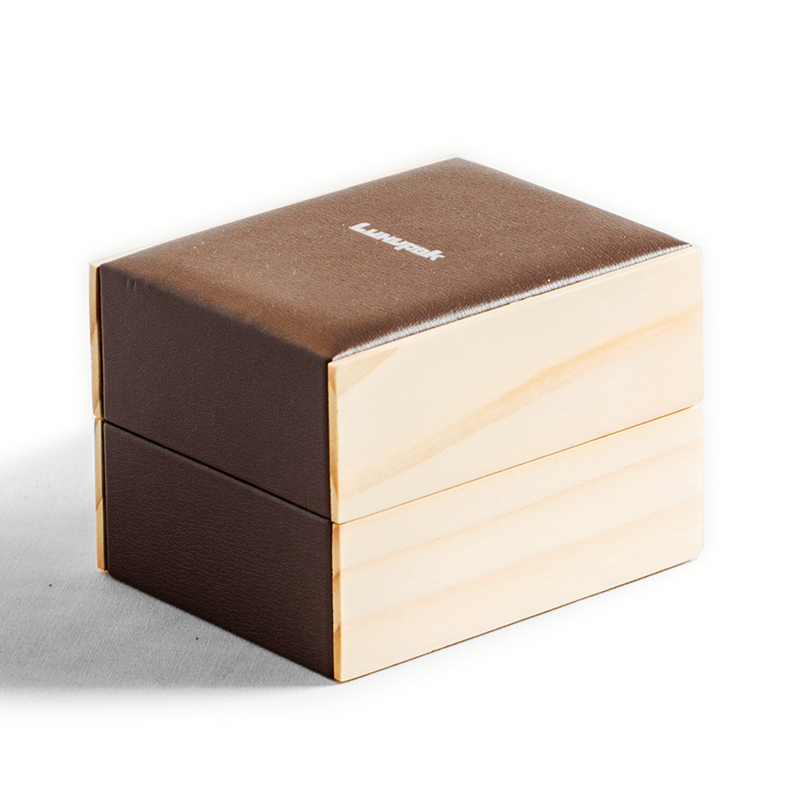 Wooden and PU leather Watch Box