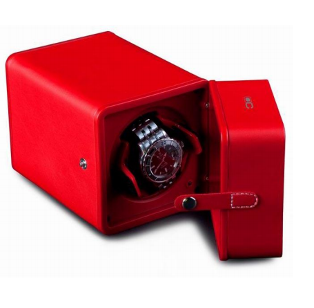 Red PU Leather Watch Winder ww-01213