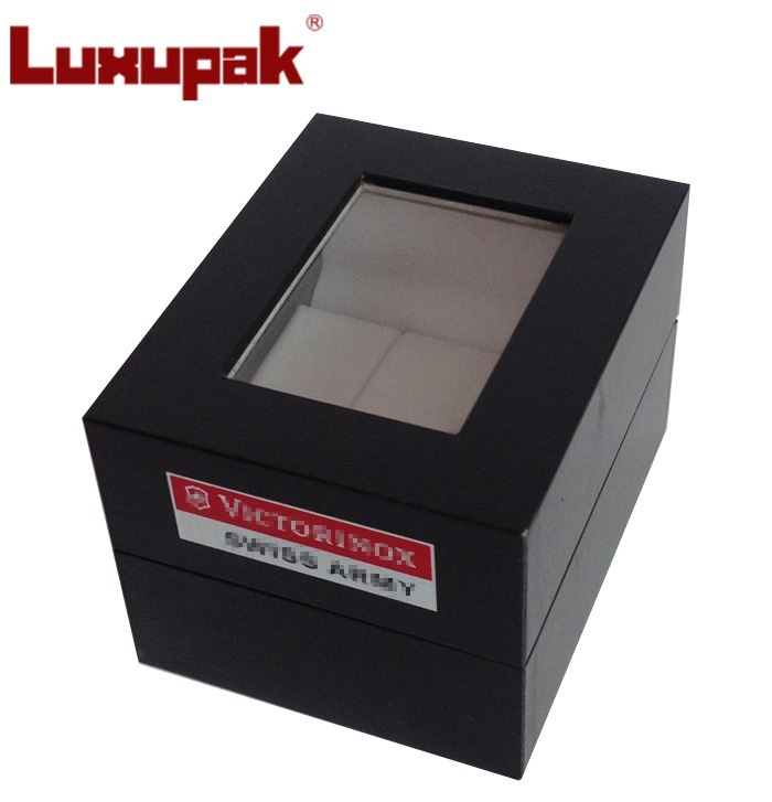 Plastic Watch Box with Window