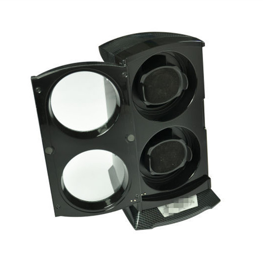 Automatic Double Watch Winder in Black WW-0068