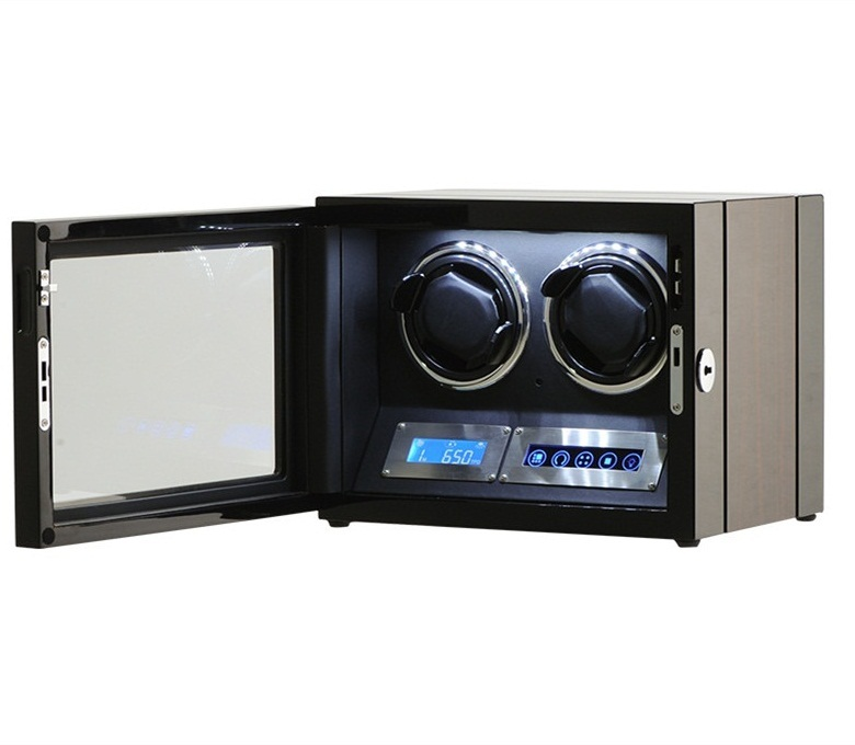 Automatic Watch Winder with two Japanese Motors with Led lig