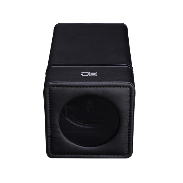Black Pu Leather Watch Winder ww-01213