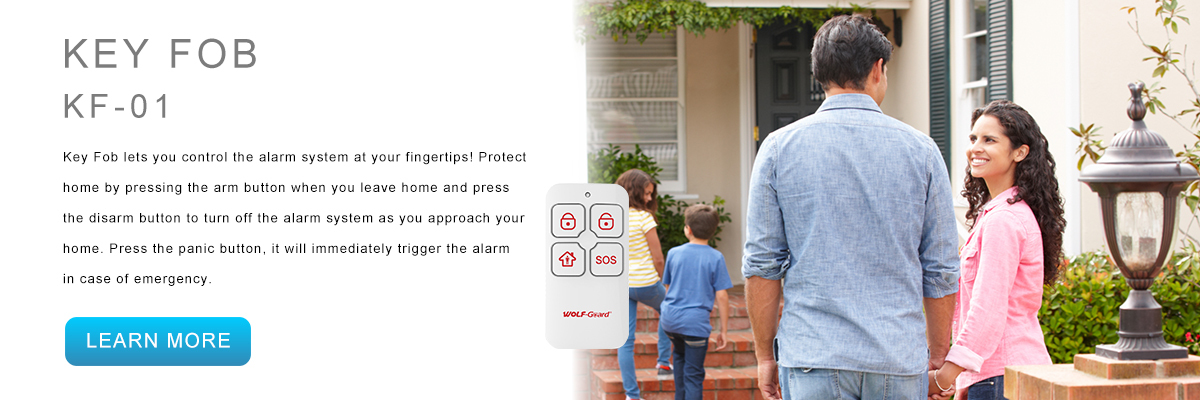 Wolf-Guard Smart Security System