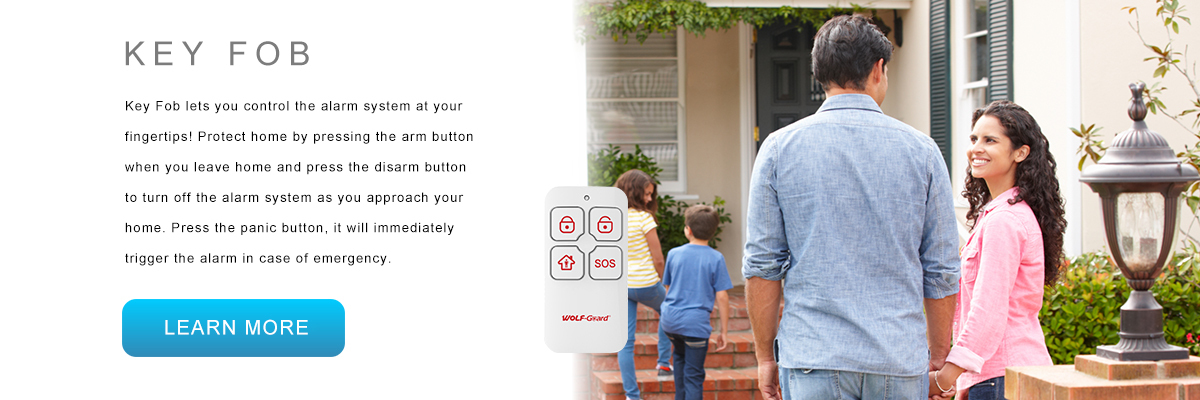 Wolf-Guard Smart Security Alarm System