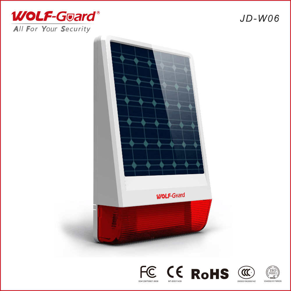Wireless-solar-power-sirena