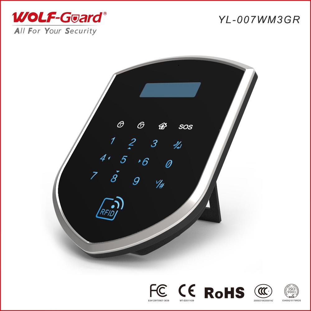 Hệ thống báo động WIFI-GSM, RFID-card-contrl, hệ thống báo đ