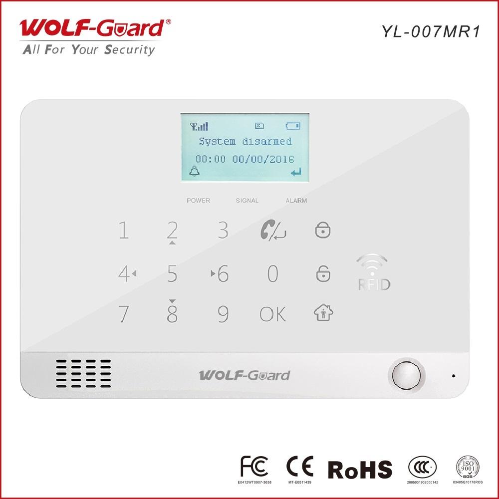 Sistema de alarme gsm-rfid, alarme de segurança 2G e RFID