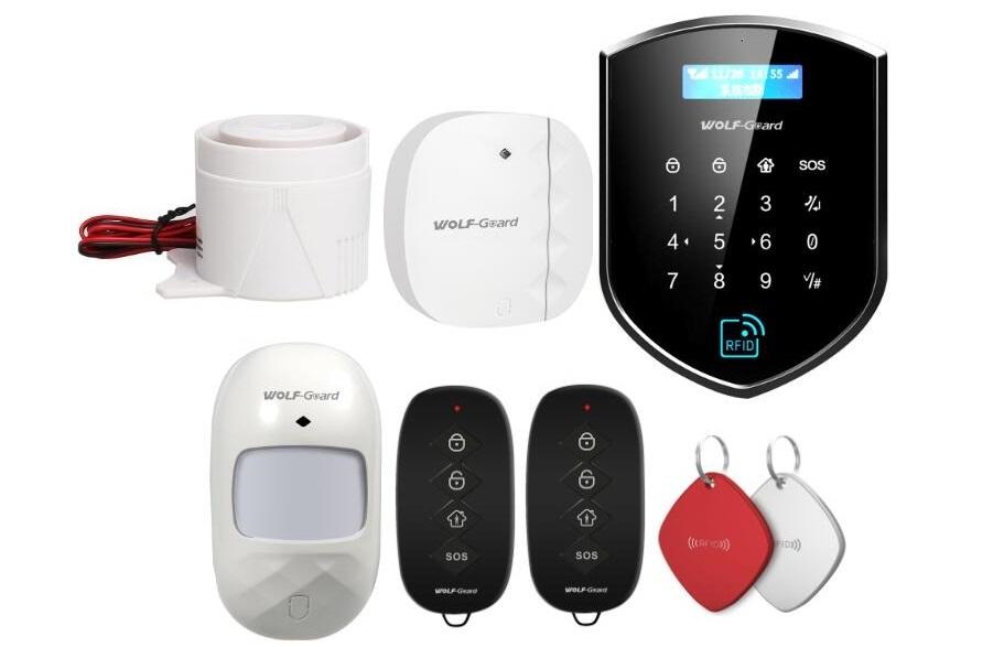 WIFI-GSM-Alarmanlage, RFID-Karten-Steuerung, WIFI / GSM-Alar