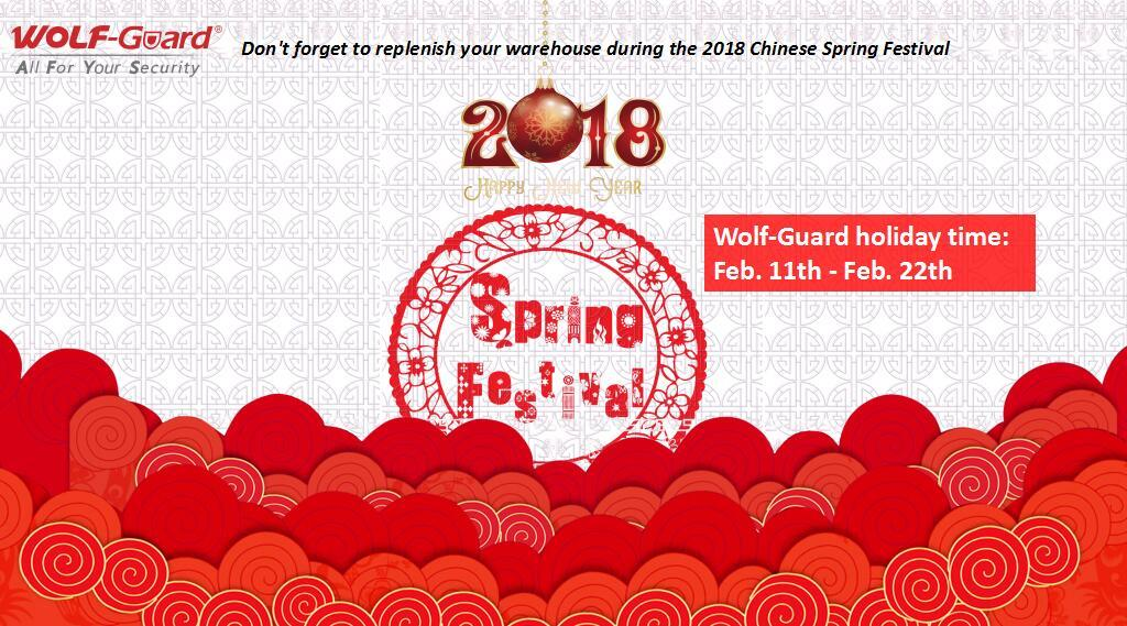 # Wolf-Guard 2018 #Spring Festival - 이제 구입할 시간입니다!