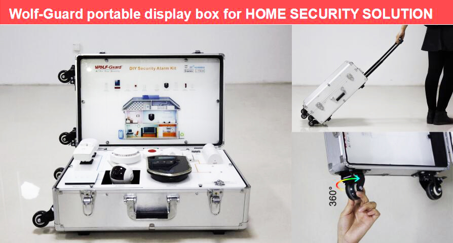 Make sales more convincing - Wolf-Guard portable display box