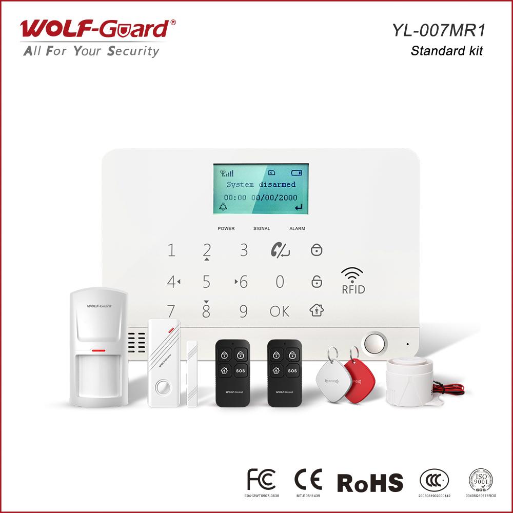 gsm-rfid-alarm-system, alarma de seguridad 2G y RFID