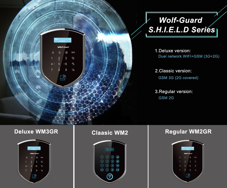 "# Wolf-Guard ""Agents of SHIELD"" series - Solución integral p"