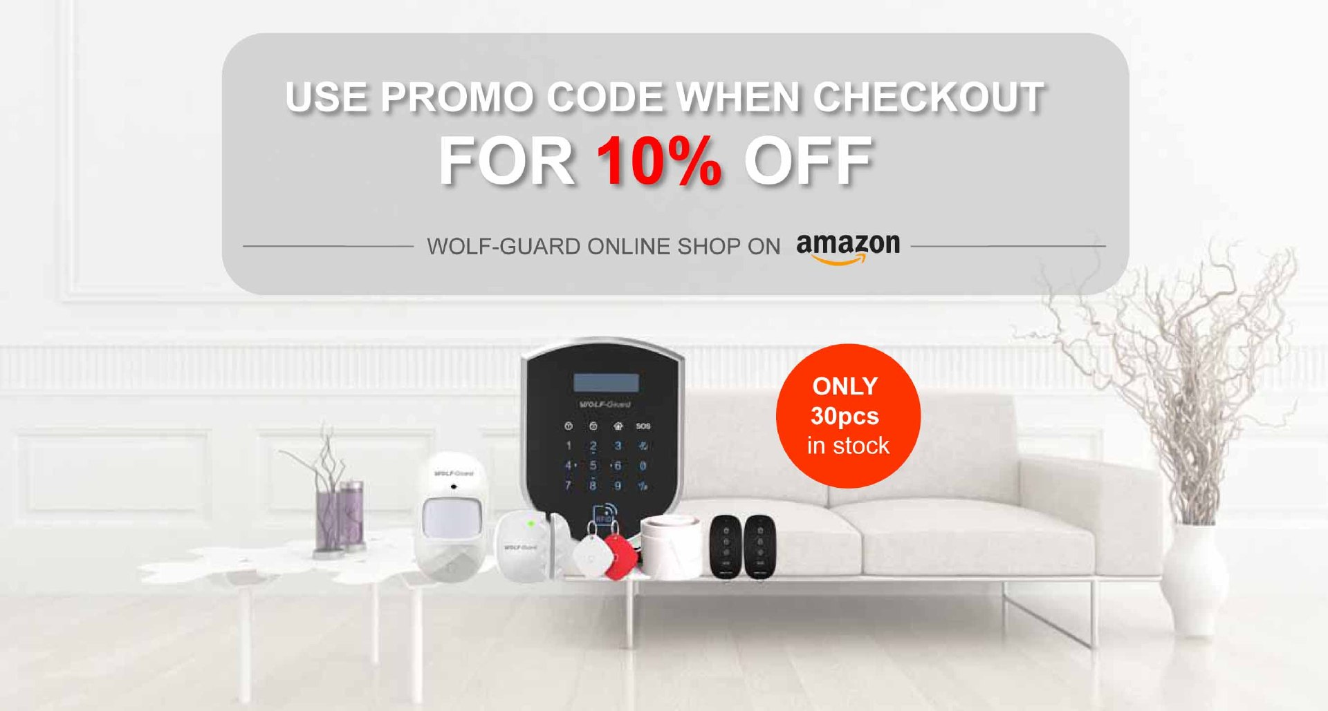 Breaking promotion on Amazon - 10% OFF