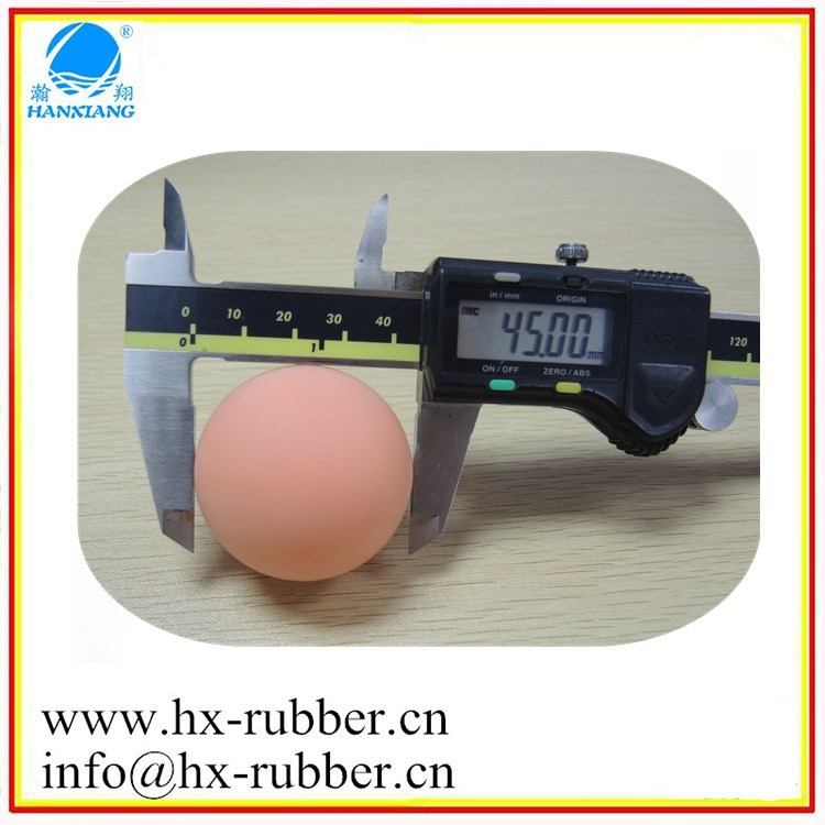 Customer silicone rubber pet ball with logo