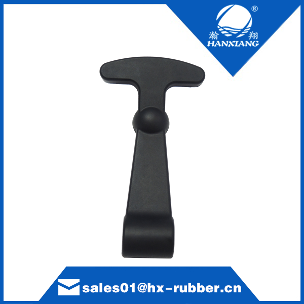 Flexible Cooler Rubber T Handle Draw Pull Latches