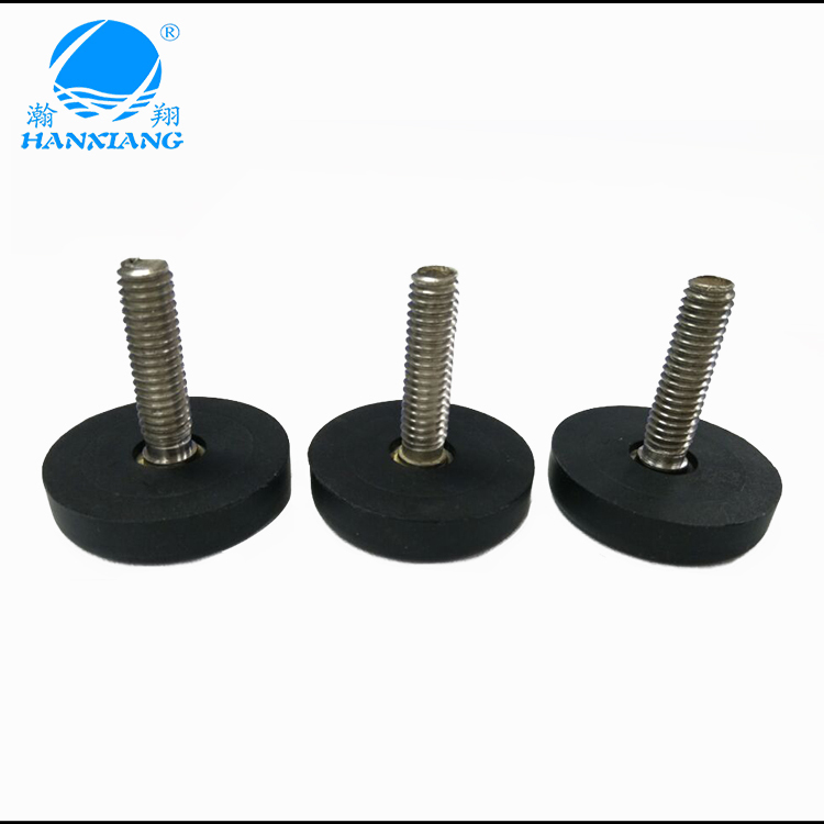 Medical equipment base silicone rubber leg rubber feet prote
