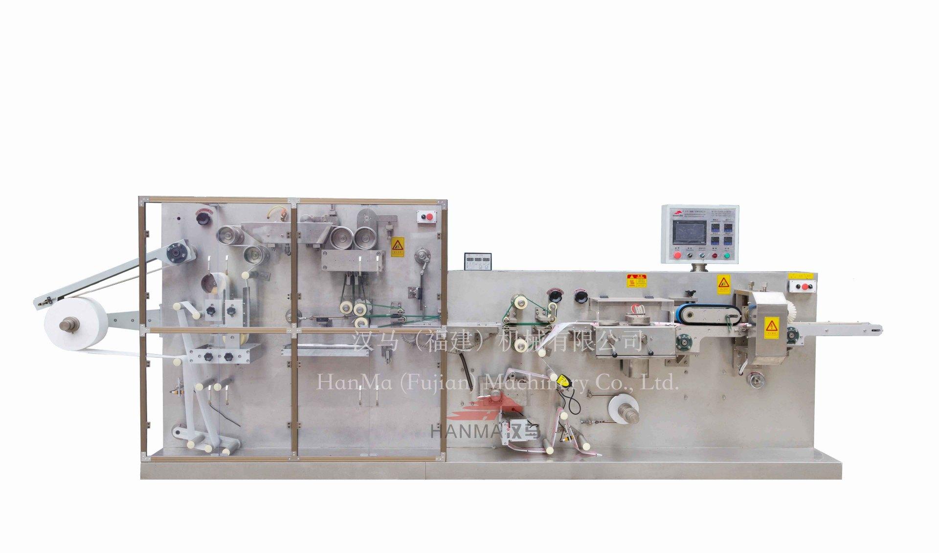 HM-P200-2 全自动湿巾折叠&包装机(1-2片/包)