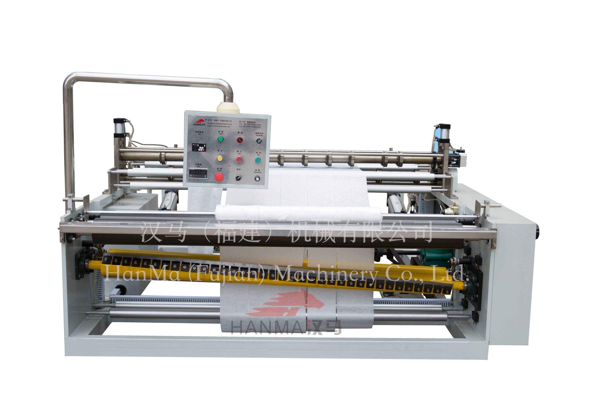 HM-S150  卷筒湿巾机