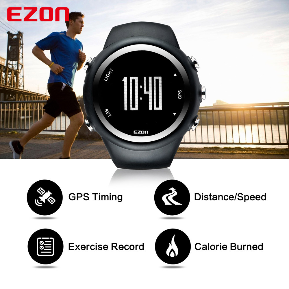 Heart Rate Monitor Digital Men's Waterproof Smart Watch