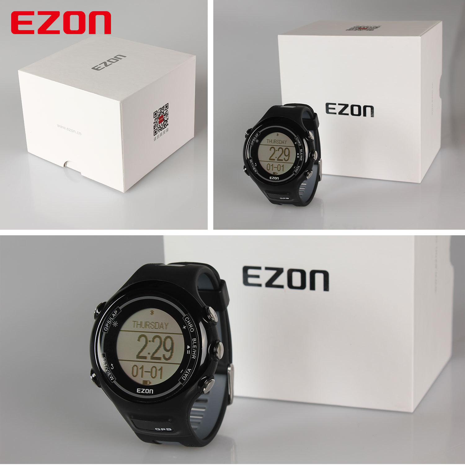 T907 Optical Heart Rate Monitor GPS & Bluetooth Sport Watch