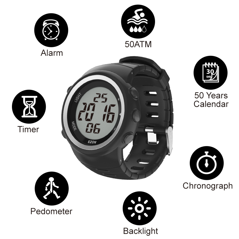 T023 Fitness Walking Watch