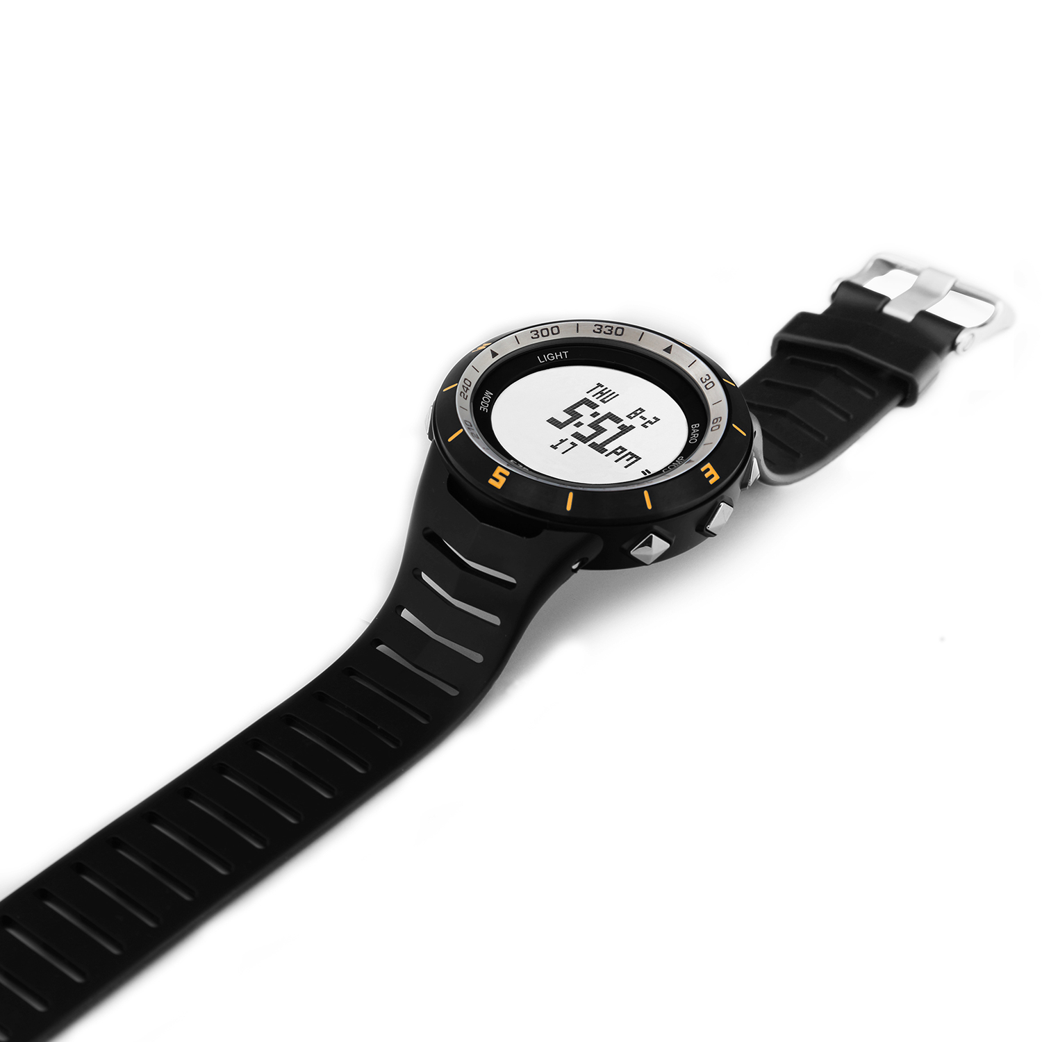 H005A11(Yellow) Multi-function Outdoor Mountaineering Watch